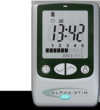 Alpha-Stim AID: Stimolatore per elettroterapia cranica